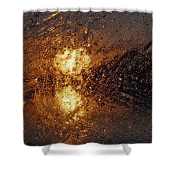 Warm Evening Shower Curtain by Sami Tiainen