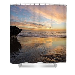 Warm Glow Of Memory Shower Curtain