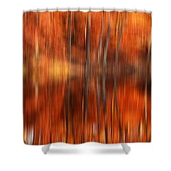 Warmth Impression Shower Curtain by Lourry Legarde