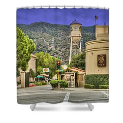 Warner Bros.  Burbank Ca  Shower Curtain