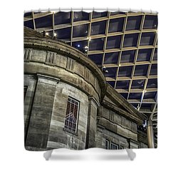 Warped Perceptions Shower Curtain by Lynn Palmer