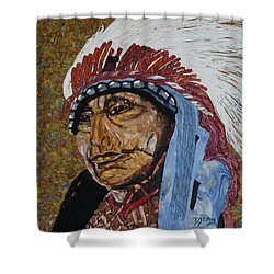 Warrior Chief Shower Curtain