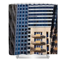 Warsaw Downtown Architecture Shower Curtain by Artur Bogacki