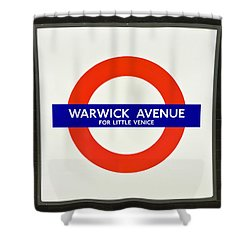 Warwick Station Shower Curtain