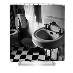 Wash Hands  Shower Curtain by Jerry Cordeiro