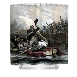 Washington Bids Adieu To His Generals  Shower Curtain by War Is Hell Store
