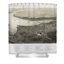 Washington, D.c., 1862 Shower Curtain by Granger