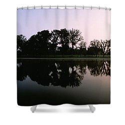 Washington Dc Shower Curtain by Panoramic Images