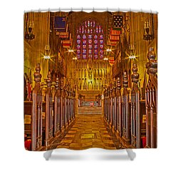 Washington Memorial Chapel Altar Shower Curtain
