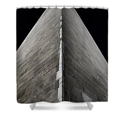 Washington Monument Shower Curtain by Marianna Mills