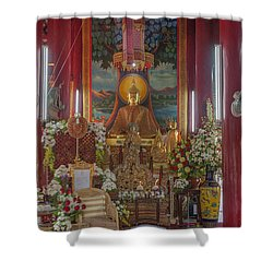 Wat Chedi Liem Phra Wihan Buddha Image Dthcm0827 Shower Curtain