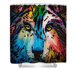 Watcher Shower Curtain