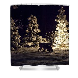 Watchful Eye Shower Curtain by Aaron Aldrich