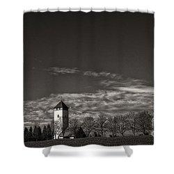 Watching Over Buchheim Shower Curtain by Bernd Laeschke