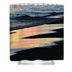 Water Colors .. Shower Curtain by Michael Thomas