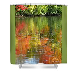 Water Colors Shower Curtain by Ann Horn