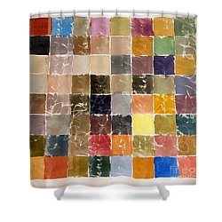 Water Colors Shower Curtain