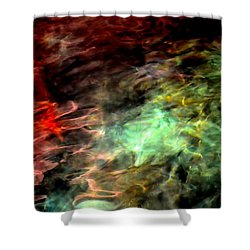 Shower Curtain featuring the photograph Water Colors by Deena Stoddard