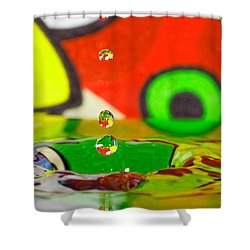 Shower Curtain featuring the photograph Water Dew by Peter Lakomy