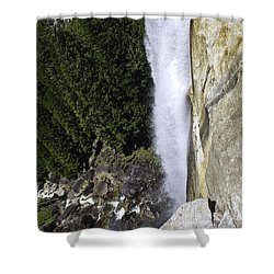 Shower Curtain featuring the photograph Water Fall by Brian Williamson