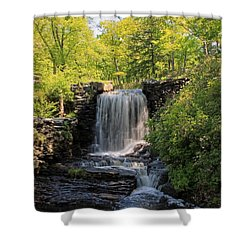 Water Fall Moore State Park 2 Shower Curtain
