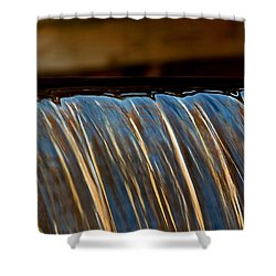 Water Falls Edge 3 Shower Curtain