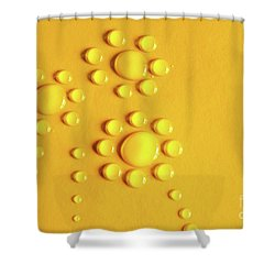 Water Flowers Shower Curtain by Carlos Caetano
