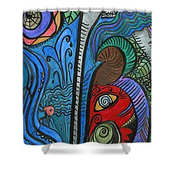 Water For Elephant Shower Curtain