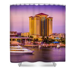Water Front Tampa Shower Curtain by Marvin Spates
