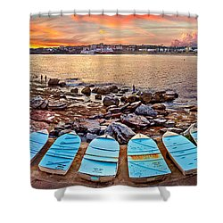 Water Guardians Shower Curtain
