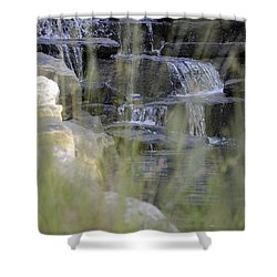 Shower Curtain featuring the photograph Water Is Life 1 by Teo SITCHET-KANDA