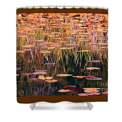Shower Curtain featuring the photograph Water Lilies Re Do by Chris Anderson