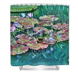 Flower 12 Shower Curtain