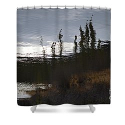 Shower Curtain featuring the photograph Water Paint by Brian Boyle
