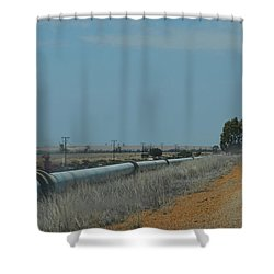Water Pipeline Shower Curtain