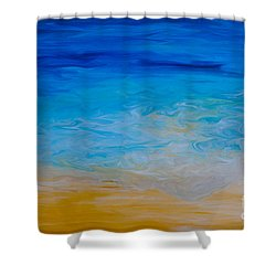 Water Vision Shower Curtain
