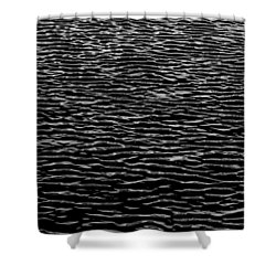 Water Wave Texture Shower Curtain