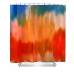 Watercolor 3 Shower Curtain by Amy Vangsgard