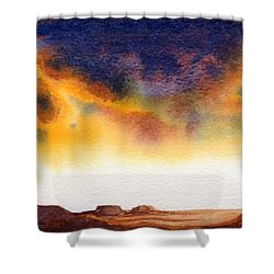 Mesa Shower Curtain