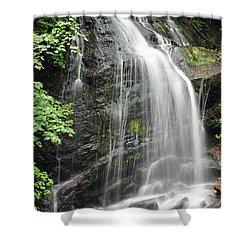 Waterfall Bay Of Fundy Shower Curtain by Glenn Gordon