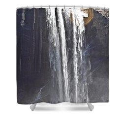 Shower Curtain featuring the photograph Waterfall by Brian Williamson