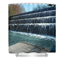 Shower Curtain featuring the photograph Waterfall Heaven by Emmy Marie Vickers