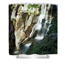 Waterfall I Shower Curtain by Marco Oliveira
