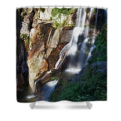 Waterfall II Shower Curtain by Marco Oliveira