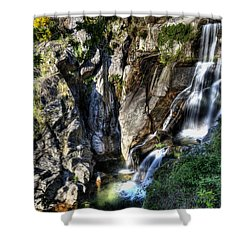 Waterfall IIi Shower Curtain by Marco Oliveira