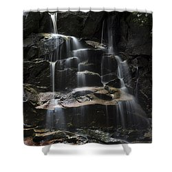 Waterfall On Small Stream Shower Curtain by Dan Friend