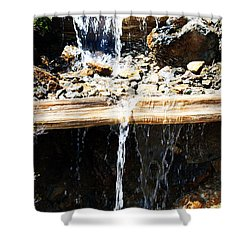 Waterfall Steps Shower Curtain
