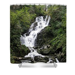 Waterfall Shower Curtain by Tim Townsend