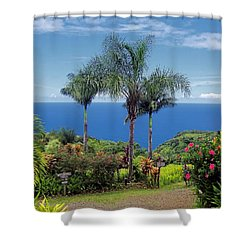 Waterfall Trail Shower Curtain