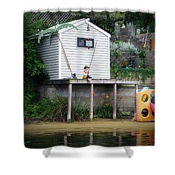 Waterfront Decor Shower Curtain by Brian Wallace